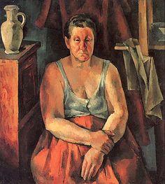 Washerwoman      Alexander Osmerkin - 1922