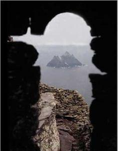 Skellig Island off the coast of Co. Kerry Ireland.