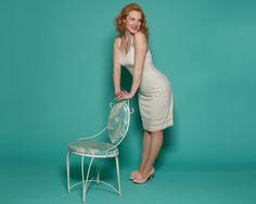 Vintage 1950s Lingerie #vintage #lingerie #fullslip #redhead #pinup #1950s @Etsy