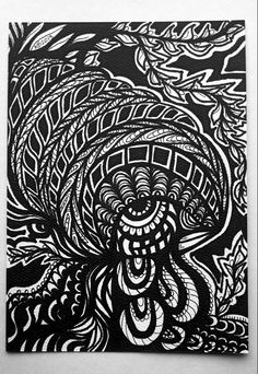 5x7 original drawingSharpie and Micron Pens on 90 lb. Watercolor Paperpurchase does not transfer copyright©2012NicoleBishopp