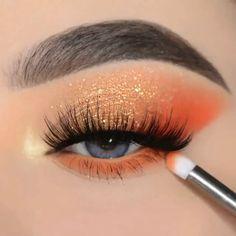 Eye Makeup Steps, Makeup Eye Looks, Beautiful Eye Makeup, Eye Makeup Art, Makeup Eyeshadow, Makeup Inspo, Summer Makeup Looks, Eyeshadow Ideas, Makeup Looks For Prom