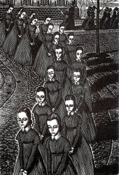 Today's Classic: Jane Eyre by Illustrations by Fritz Eichenberg (1943)