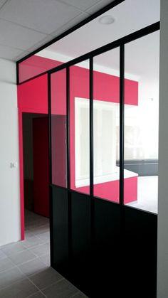 Amazing Verrière Métallique Style Atelier Du0027artiste. Architecture Et Décoration  Contemporaine. Art Métal Concept