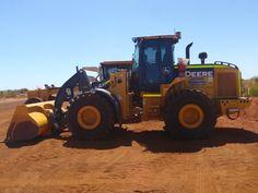 John Deere 644K Wheel Loader | AK Evans | Hitachi Construction Machinery Austtralia