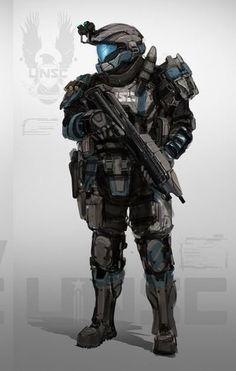 I love this design for ODSTs Halo Armor, Halo Spartan Armor, Halo Reach Armor, Cyberpunk, Halo 3 Odst, Halo Series, Combat Armor, Halo Game, Futuristic Armour