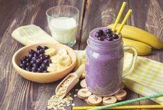 Il frullato della colazione con banana e mirtilli – Kayla Itsines