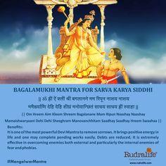 #rudralife #shiva #TuesdayTips #MangalwarMantra Hindu Vedas, Hindu Deities, Hinduism, Kali Mantra, Sanskrit Mantra, Vedic Mantras, Hindu Mantras, Hanuman Chalisa, Krishna