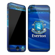 Everton F.C. iphone 5 Skin by Everton F.C.. $15.44. EVERTON F.C.  iphone 5 Skin *Anti-Fade *Waterproof *Bubble-Free Finish *Anti-Scratch *Easy Application *No Residue When Removed Official Licensed Product