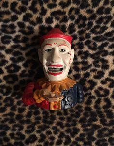 Clown Jester Bank Cast Iron Mechanical  Humpty Dumpty Co. Replica by LipstickLounge on Etsy
