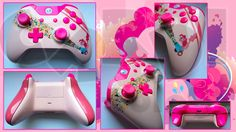 Custom Xbox One Controller Pinkie Pie with Party Cannon from My Little Pony: Friendship is Magic by CARDI-ology http://www.cardi-ology.com http://www.facebook.com/itscardiology