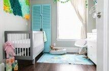 Antes e depois: escritório vira quarto do bebê