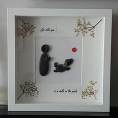 Gifts For Dog Owners, Dog Lover Gifts, Gift For Lover, Pet Lovers, Pebble Pictures, Park Pictures, Walk In, Art Walk, Pebble Art