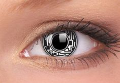 Cyborg Contact Lenses, Cyborg Contacts | EyesBright.com on Wanelo