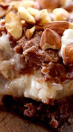 Almond Joy Brownies ❊