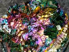Why people are obsessed with bismuth crystals - Join the conversation about this story »