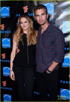 Shailene Woodley and Theo James: Summit Comic-Con Party | shailene woodley summit comic con party 03 - Photo