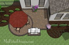Patio for Courtyard | Patio Designs and Ideas