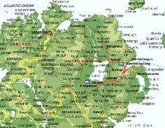 Detailed map Of Northern Ireland