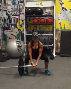 """4,984 Likes, 135 Comments - Alexia Clark (@alexia_clark) on Instagram: """"Landmine Grand You can do this as a circuit or just add one into your workout! Circuit landmine…"""""""