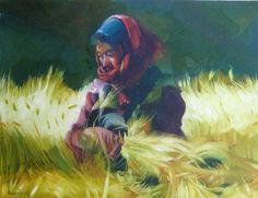 Hussain Alheidary - working in the field 2