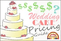 Wedding Cake Pricing Guide - whether you are buying or selling, this guide will help you plan ahead!