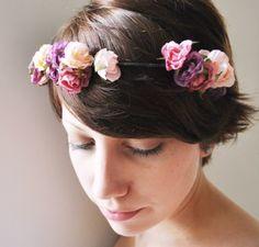 flower tiara.
