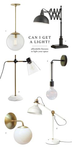 Can I get a Light? Can I get a light? Affordable lighting for your home. Replace Light Fixture, Light Fixtures, Home Lighting, Lighting Design, Lighting Ideas, Luminaire Vintage, Diy Lampe, Wit And Delight, I Love Lamp