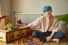 SUGA #BTS #방탄소년단 #LOVE_YOURSELF 承 'Her' Concept Photo L version
