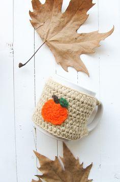 Halloween Mug Cozies for I Like Crochet