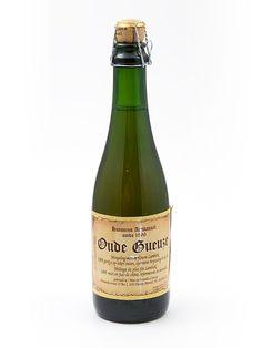 Cerveja Hanssens Oude Gueuze, estilo Lambic - Gueuze, produzida por Hanssens Artisanaal, Bélgica. 6% ABV de álcool.