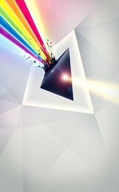 Alchemy by Kuba Bogaczynski Graph Design, Ad Design, Cocktail Bar Interior, Arte Pink Floyd, Pink Floyd Poster, Triangles, Design Typography, Graphic Design Inspiration, Tattoo Inspiration
