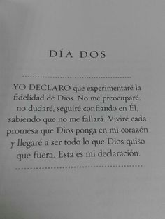 Positive Phrases, Positive Thoughts, Spanish Prayers, I Love You God, Motivational Quotes, Inspirational Quotes, Learning Websites, Spiritual Messages, God Prayer