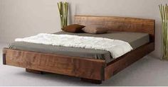Solid Wood Beds by Ign Design