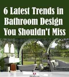 The bathroom is an important part of your house. With time, trends in the bathroom design change. Here are some popular bathroom design trends this year. Make Money From Home, Make Money Online, How To Make Money, Led Shower Head, Best Build, Best Blogs, Traditional Looks, Bath Design, Natural Texture