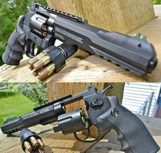 If I ever get a revolver, it will be one like this. Weapons Guns, Guns And Ammo, Hand Cannon, Armas Ninja, Concept Weapons, Custom Guns, Military Guns, Cool Guns, Fantasy Weapons