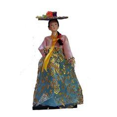Koreans Statue Art Doll geisha Home Desk/showcase/car Artistic Decor