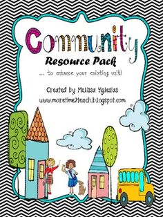 Communities Resource Pack - More Time 2 Teach - TeachersPayTeachers.com