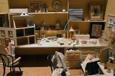 miniature craftroom miniatures :D