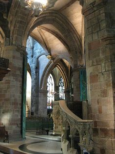 St. Giles Cathedral on The Royal Mile -  Edinburgh, Scotland.  The tomb of SirArchibald Campbell is there.