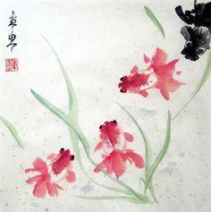 китайская живопись гохуа: 2 тыс ...: https://www.pinterest.com/vesa6/aquarelle-chinoise
