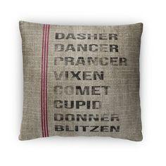 Found it at Wayfair - Reindeer Throw Pillow