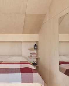 Image 1 of 21 from gallery of Kaggeboda House / AndrénFogelström. Photograph by James Silverman photography Plywood House, Plywood Kitchen, Plywood Walls, Bungalow, Container Homes Cost, Plywood Design, Swedish Cottage, Plywood Interior, Small Lounge