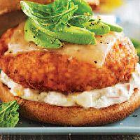 Salmon Burgers (minus cheese)