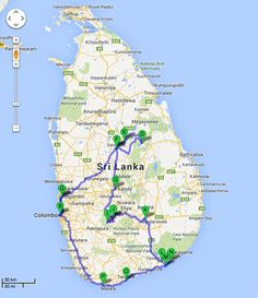 Highlights of Sri Lanka - 2 weeks itinerary #VisitSriLanka #Travel