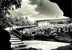 Casa José Albert Bustamante, Calle del Agua 868, Jardines del Pedregal, México, DF 1955 Arq. Francisco Artigas