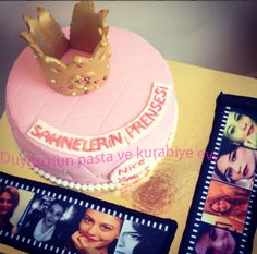 kraliçe tacı pasta-queen crown birthday cake