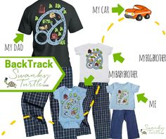 ffa43e69c Unique Fun Gifts for Dad. Matching Shirts Father Son Mom Baby Grampa.  Playmat Race