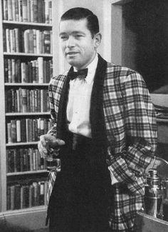 "1950 tartan dinner jacket (""Life"" April 17, 1950)"
