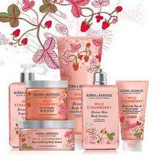 Uwielbiam poziomki. Mogą być nawet w kosmetykach, po które można sięgnąć, gdy poczujemy nieodpartą pokusę na coś pysznego. Żel pod prysznic BJÖRK & BERRIES Wild Strawberry Heavenly Body Wash pachnie prawdziwymi poziomkami!