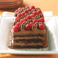 Raspberry Chocolate Torte Recipe